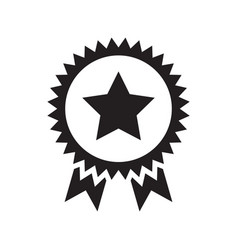 award stylish icon vector image