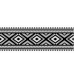 Aztec style ornament vector