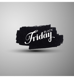 Black Friday Sale label vector image