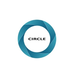 Circle shape vector