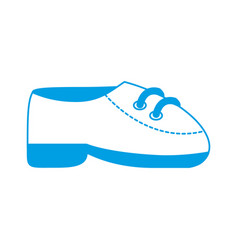 elegant shoes icon vector image