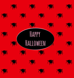 poster on theme halloween holiday party or vector image