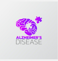 risk factors for alzheimers disease icon design vector image
