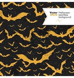 Seamless halloween textured pattern vector