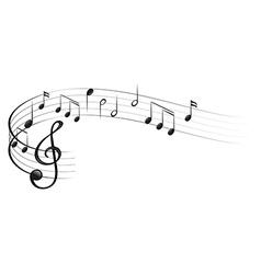 Symbols of music vector
