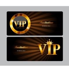 VIP Members Card vector