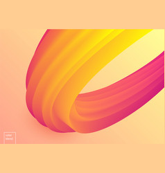 colorful mellow wave vector image vector image