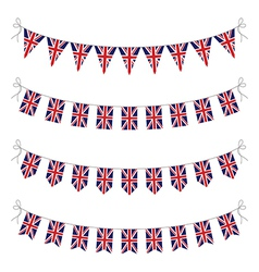 uk bunting vector image