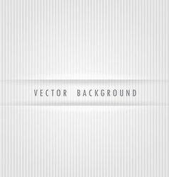 White strips background vector image vector image