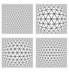 3d geometric patterns vector