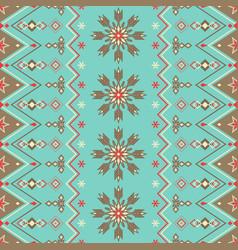 christmas new year geometric holiday seamless vector image