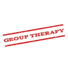 Group Therapy Watermark Stamp vector
