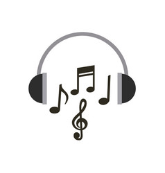 Music and techonology design vector