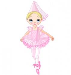 pink princess vector image