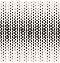 Seamless Black and White Halftone Random vector