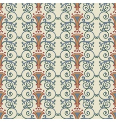 Seamless pattern stylized the ancient Roman vector image vector image
