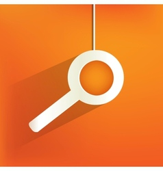 search web iconflat design vector image