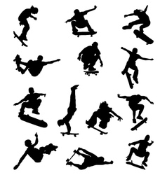 skate jumpers vector image
