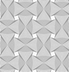 Slim gray wavy rectangles with offset vector