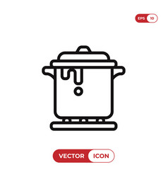 stew icon vector image