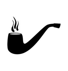 tobacco pipe vintage vector image