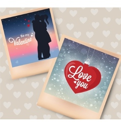photo card great for your design vector image
