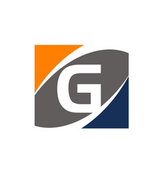 Success solution letter g vector
