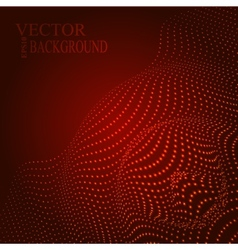 Abstract of sound wave vector image
