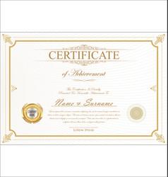 Certificate 05 vector