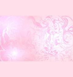 Chaotic touches on a pink background vector
