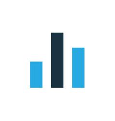 chart colorful icon symbol premium quality vector image