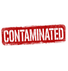 Contaminated sign or stamp vector