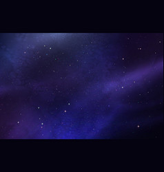 dark ultraviolet outer space vector image