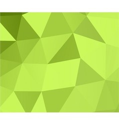 Green abstract geometric background 3d effect vector