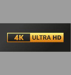 Modern tv full hd 4k great design for any vector
