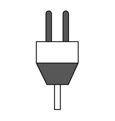 Plug and chord icon image vector