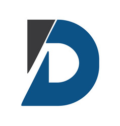 creative letter d logo design template vector image vector image
