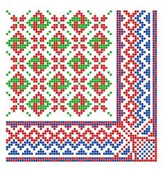 vintage ornament vector image vector image