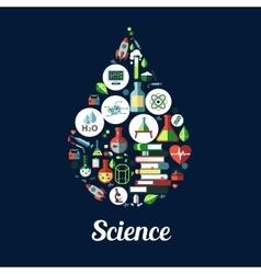 Science genetics biochemistry icon vector