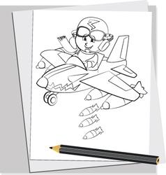 Battle Doodles 1 vector