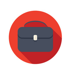 briefcase stylish icon vector image