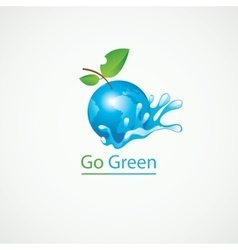 Eco Go Green vector