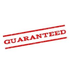 Guaranteed Watermark Stamp vector