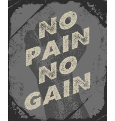 Gym and workout poster design vector