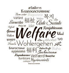 Welfare different languages vector