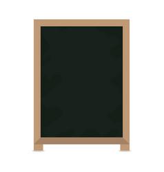 blackboard restaurant menu vector image