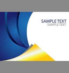 Abstract Layout Template vector image