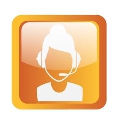 Call center icon symbol design vector