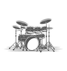 Design element for music logos labels emblems vector