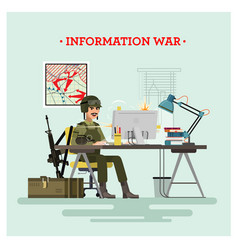 Information war vector